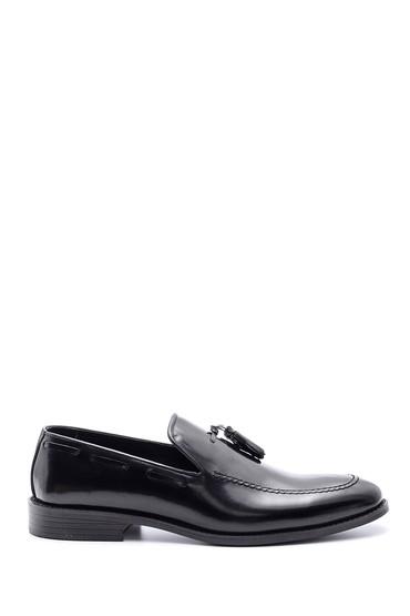 Siyah Erkek Klasik Deri Loafer 5638094530