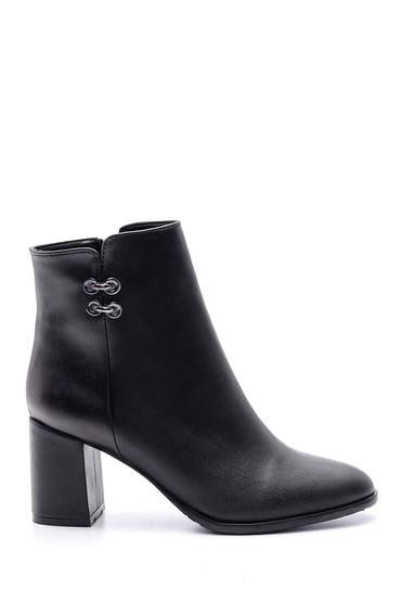 Siyah Kadın Topuklu Bot 5638102005