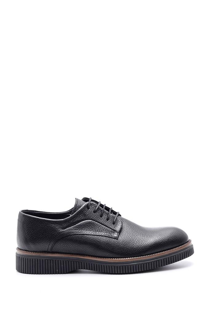Siyah Erkek Casual Deri Ayakkabı 5638089602