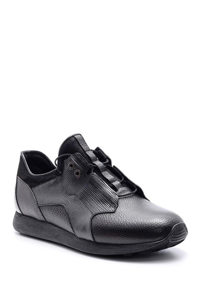 5638090325 Erkek Deri Sneaker