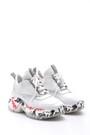 5638095925 Kadın Şeffaf Taban Detaylı Sneaker