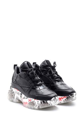 Kadın Şeffaf Taban Detaylı Sneaker