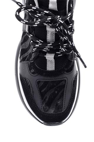 Kadın Zebra Detaylı Sneaker