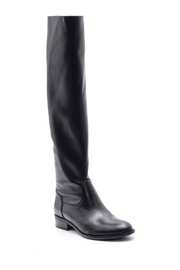 Siyah Kadın Deri Çizme 5638091407