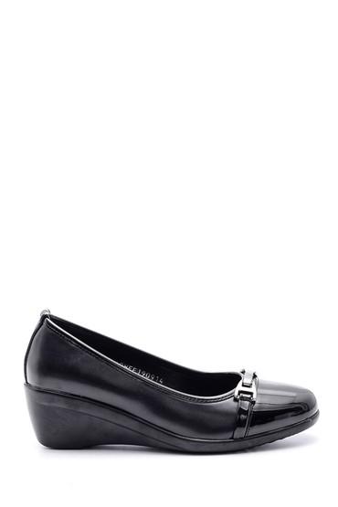 Siyah Kadın Dolgu Topuklu Ayakkabı 5638082843