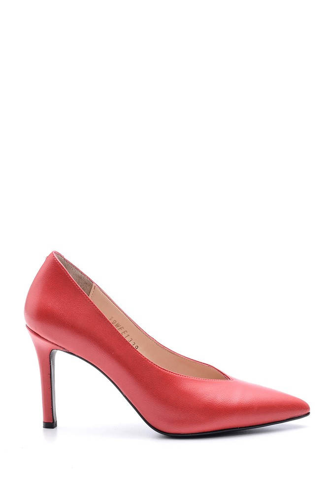 Kırmızı Kadın Stiletto 5638093826