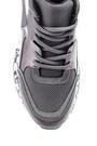5638106938 Kadın Yüksek Tabanlı Desenli Sneaker