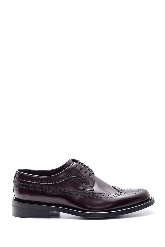 5638094590 Erkek Deri Kösele Tabanlı Ayakkabı