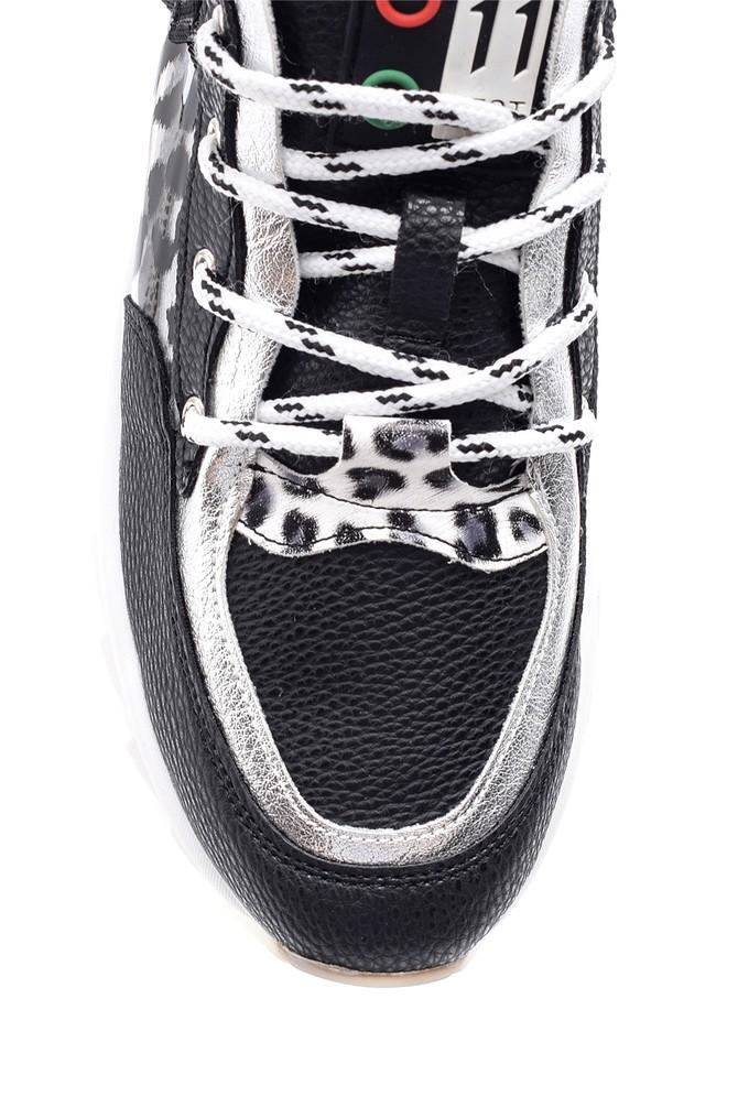 5638114333 Kadın Desenli Sneaker