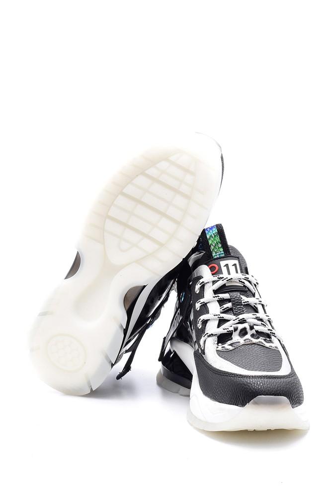 5638114335 Kadın Desenli Sneaker