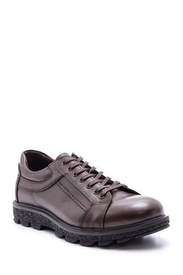 Kahverengi Erkek Deri Ayakkabı 5638074395