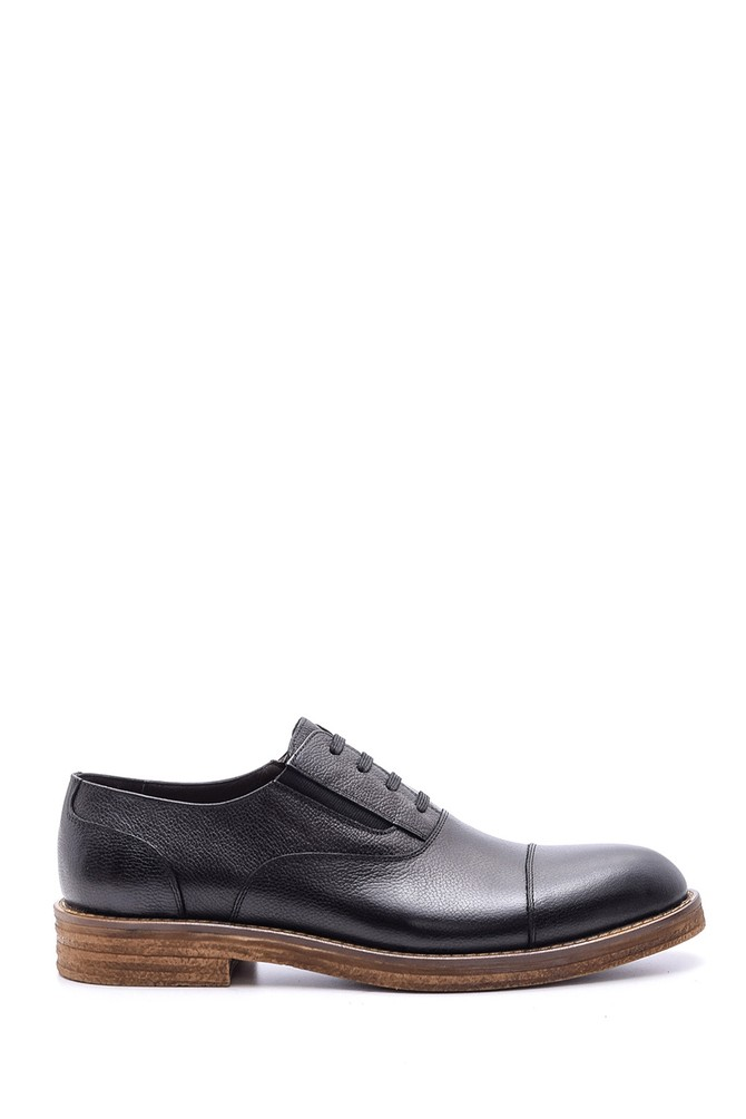 Siyah Erkek Deri Ayakkabı 5638080223