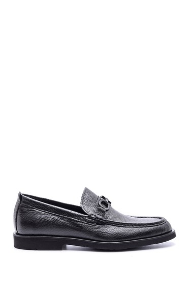 Siyah Erkek Klasik Deri Loafer 5638088368