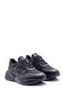 5638089200 Erkek Yüksek Tabanlı Deri Sneaker