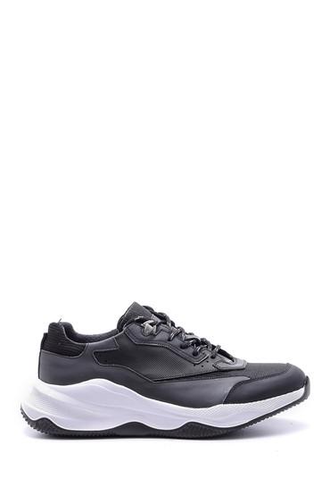 5638089293 Erkek Yüksek Tabanlı Deri Sneaker
