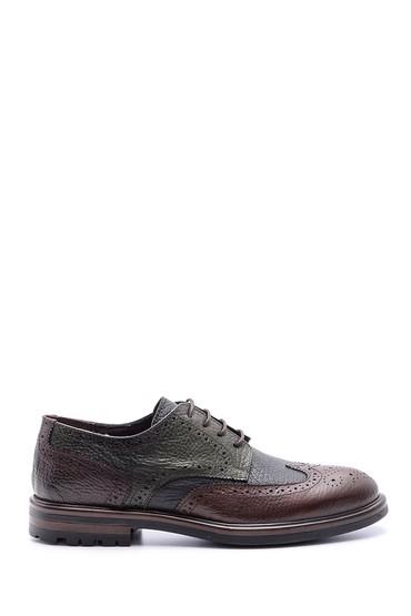 Multi Renk Erkek Klasik Deri Ayakkabı 5638095718