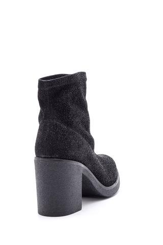 Kadın Topuklu Simli Bot