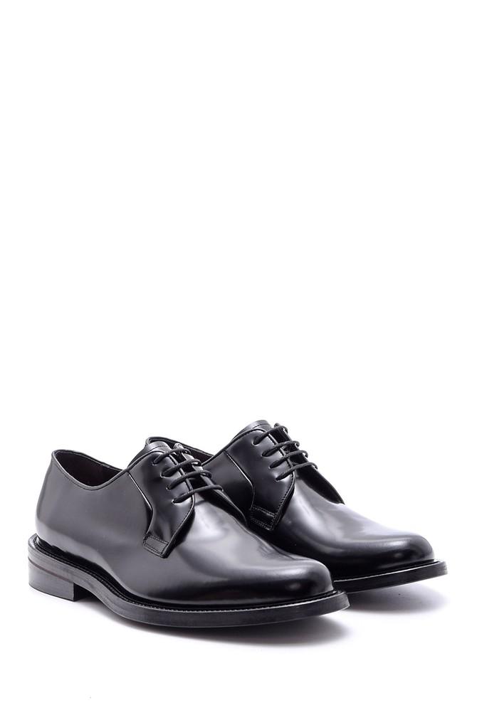 5638094577 Erkek Deri Kösele Tabanlı Ayakkabı