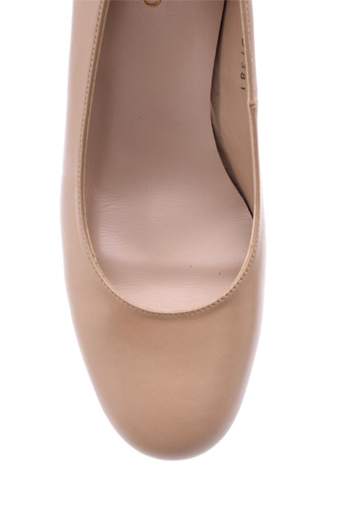 5638117368 Kadın Topuklu Deri Ayakkabı