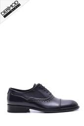 5638088386 Erkek Deri Kösele Tabanlı Ayakkabı