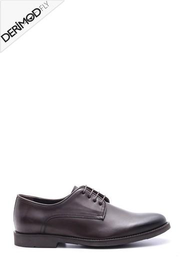Kahverengi Erkek Deri Ayakkabı 5638094349