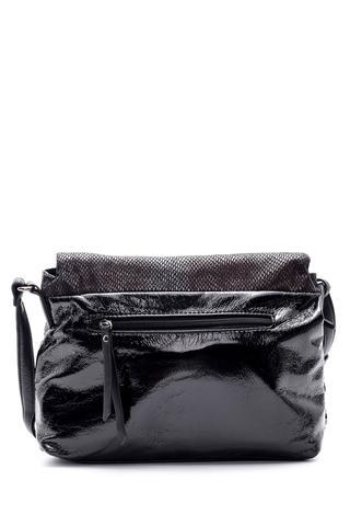 Kadın Kroko Detaylı Çapraz Çanta