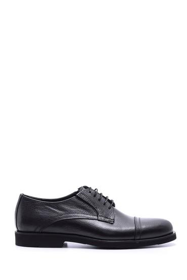 Siyah Erkek Deri Casual Ayakkabı 5638088346