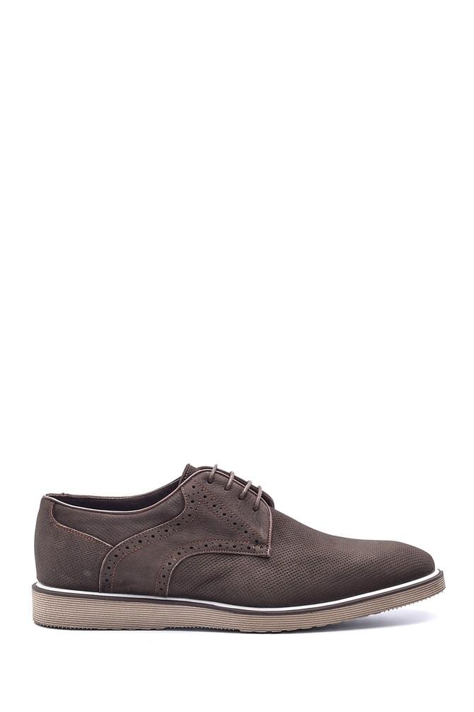 Kahverengi Erkek Deri Ayakkabı 5638078980
