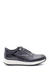 5638086087 Erkek Deri Sneaker