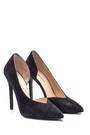 5638097995 Kadın Süet Deri Topuklu Ayakkabı