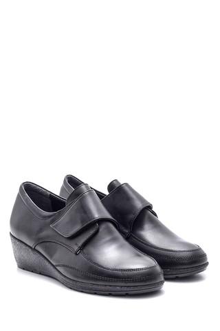 Kadın Bantlı Deri Ayakkabı