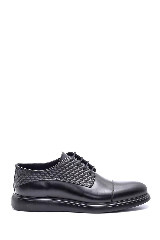 Siyah Erkek Casual Deri Ayakkabı 5638083556
