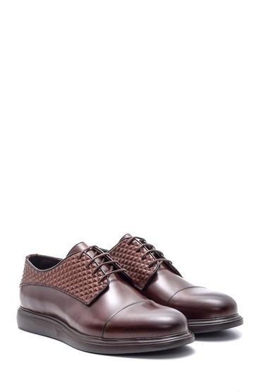 Kahverengi Erkek Casual Deri Ayakkabı 5638083561
