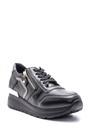 5638094097 Kadın Fermuar Detaylı Spor Ayakkabı