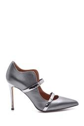 5638108356 Kadın Deri Topuklu Ayakkabı