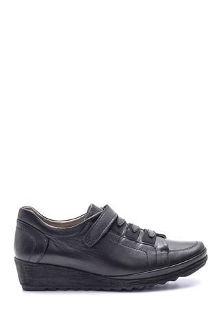 Kadın Deri Bantlı Ayakkabı