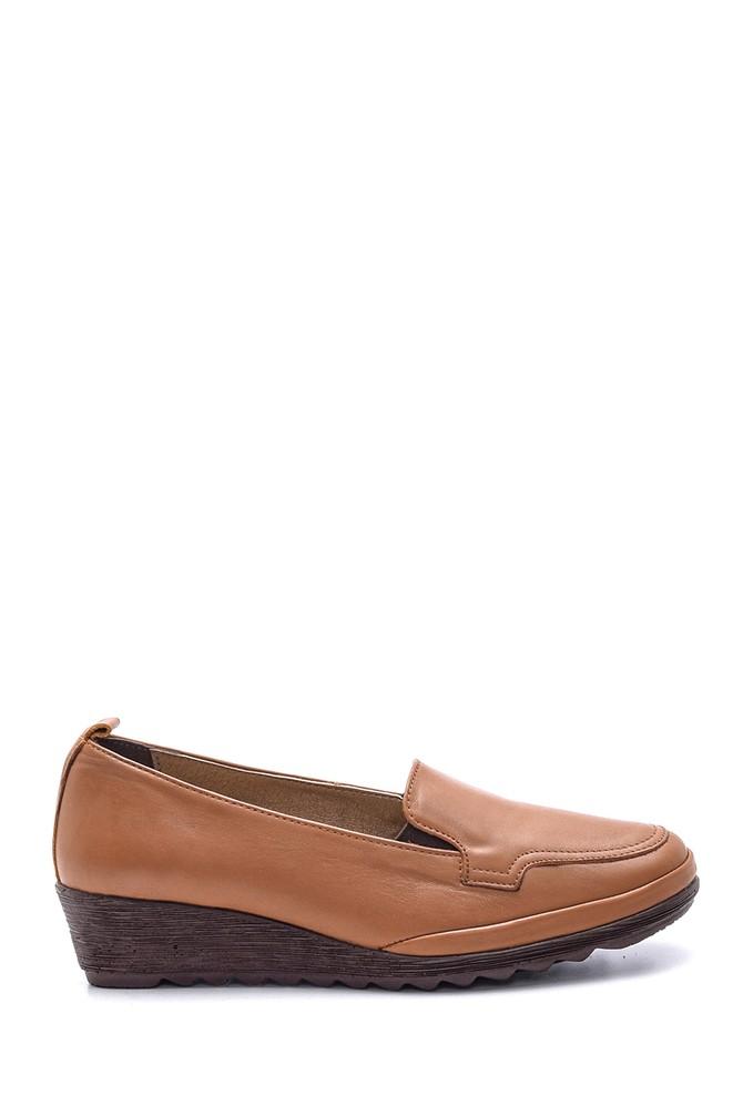 Kahverengi Kadın Deri Ayakkabı 5638091472