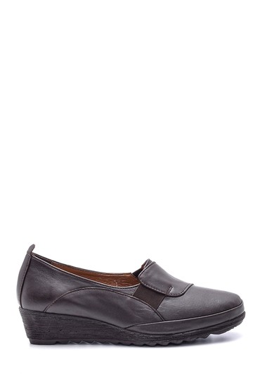 Kahverengi Kadın Deri Ayakkabı 5638091485
