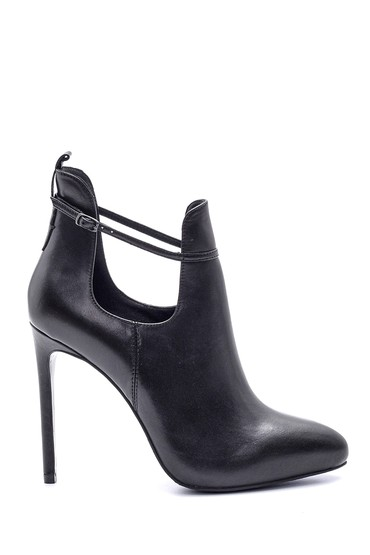 5638114911 Kadın Deri Topuklu Ayakkabı