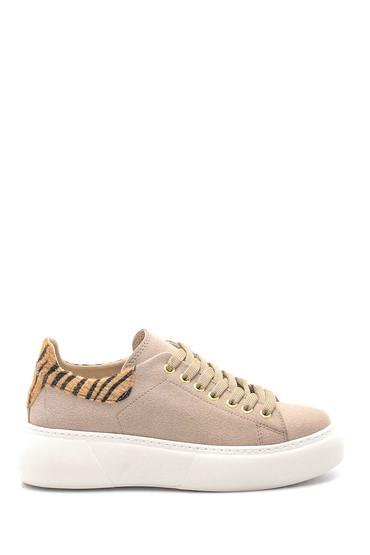 5638118859 Kadın Süet Sneaker