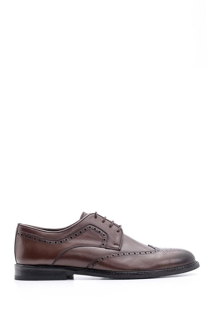 Kahverengi Erkek Klasik Deri Ayakkabı 5638078757