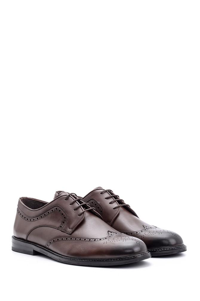 5638078757 Erkek Klasik Deri Ayakkabı