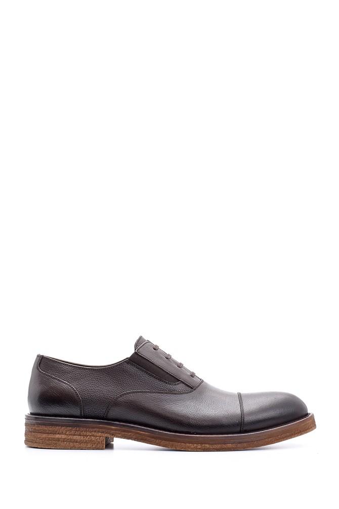 Kahverengi Erkek Deri Ayakkabı 5638080241