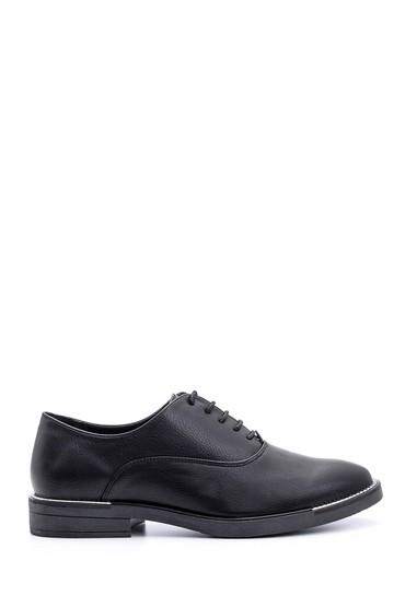 5638082970 Kadın Metal Detaylı Ayakkabı