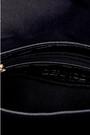 5638090076 Kadın Kroko Desenli Peluş Detaylı Çanta