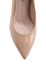5638092892 Kadın Topuklu Rugan Deri Ayakkabı