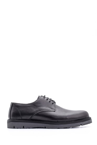 Siyah Erkek Deri Ayakkabı 5638096290