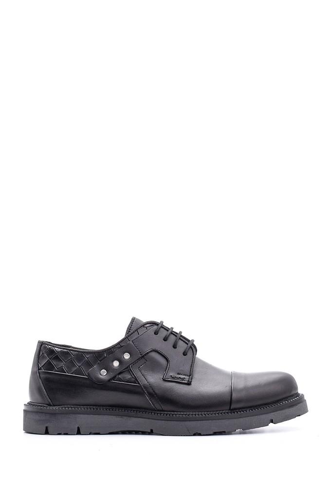 Siyah Erkek Deri Ayakkabı 5638096313