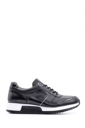 5638094837 Erkek Casual Deri Sneaker