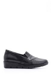 5638113794 Kadın Deri Dolgu Topuklu Ayakkabı
